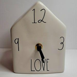RAE DUNN Love Clock